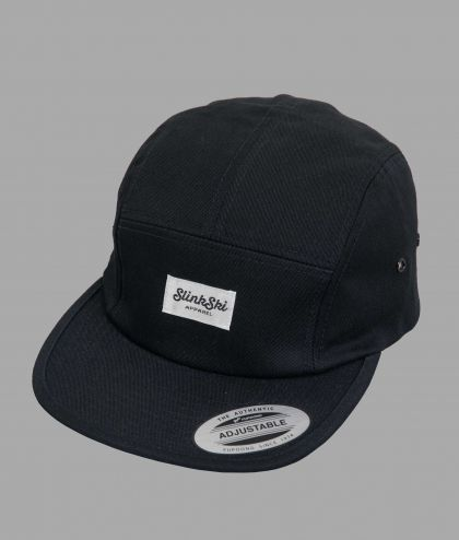 Snap Back 5 Panel Cap