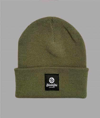 Patch Beanie Hat