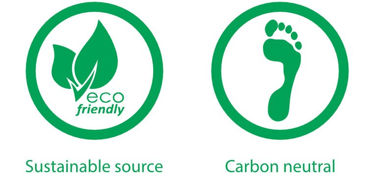 Sustainable source and carbon neutral